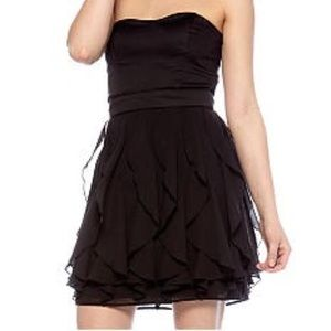 Black/ Strapless French Connection Dress